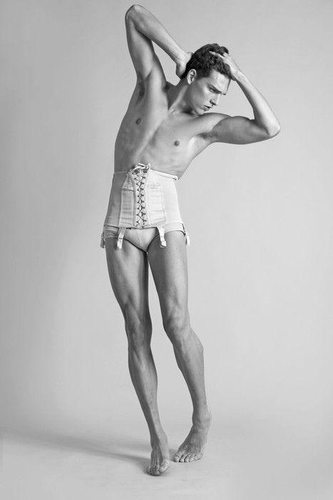 men in lingerie