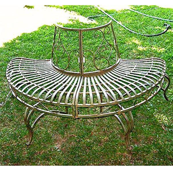 6 Best Tree Benches Of 2020 With Images Metal Garden Benches