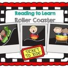 """Just in time for the end of the school year. This booklet includes a nonfiction passage about roller coasters, common core activities and think marks poster for nonfiction text.  This """"Reading..."""