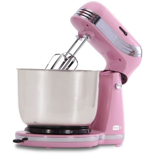 Dash Go 2.5-qt. Stand Mixer (Pink) (1,015 MXN) ❤ liked on Polyvore ...