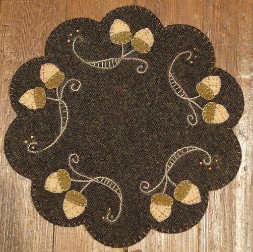 Penny Rug Patterns Kits And Supplies The Woolen Needle