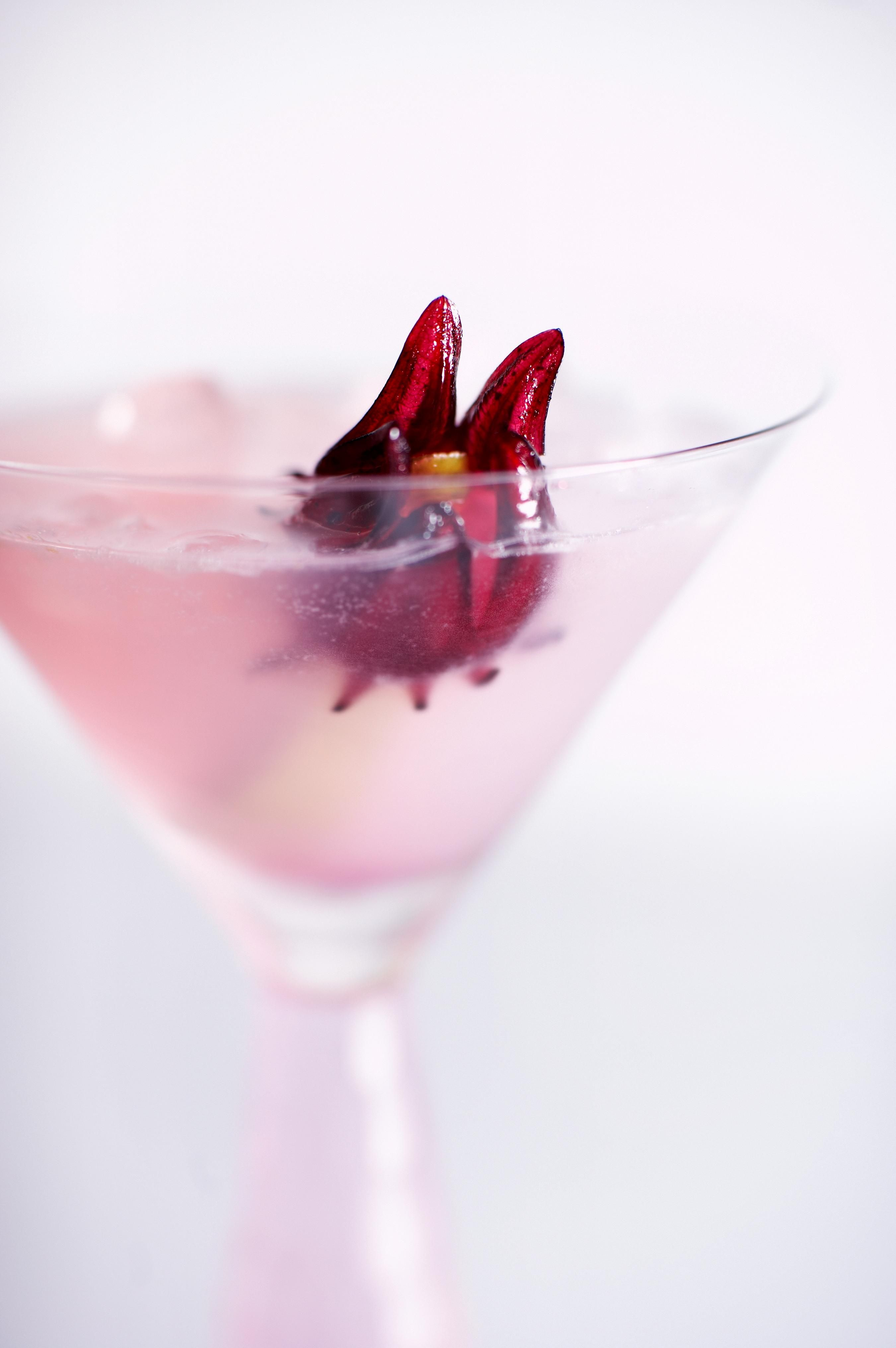 The Embrace 2 Oz Pinky Vodka 2 Oz Pear Nectar 14 Oz Syrup From