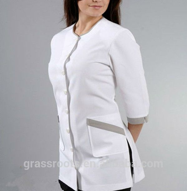 Source beauty salon spa uniform new style female spa for Spa uniform female