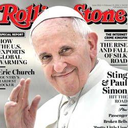 """Pape François - Pope Francis - Papa Francesco - Papa Francisco -  La rivista musicale statunitense """"Rolling Stone"""" dedica un lungo articolo alla """"rivoluzione gentile"""" di papa Bergoglio !"""