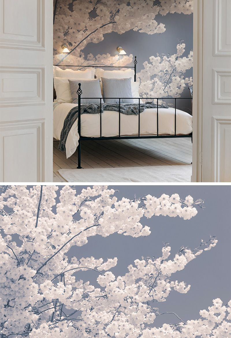 Blossom For The Bees In 2020 Wohnzimmer Tapeten Ideen Tapeten Wohnzimmer Moderne Tapeten