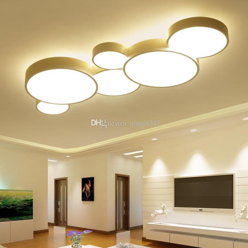 Led Deckenleuchte Moderne Panel Lampe Beleuchtung Lampen