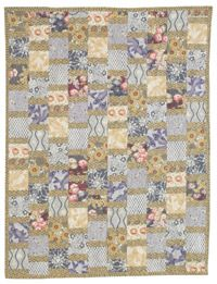 Joanie Holton and Melanie Greseth showcase the beautiful Honoka collection from Anna Griffin, Inc. This easy quilt pattern features a great way to use those fat quarters, Quilters Newsletter June/July 2012