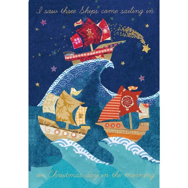 I Saw Three Ships   Christmas cards   Macmillan Cancer Support ...