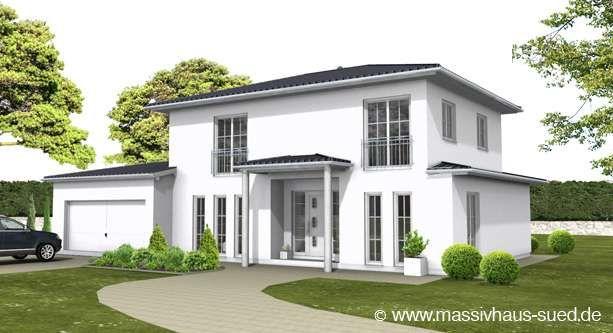 Stadtvilla mediterran mit garage  Mediterraner Flair kombiniert mit hohem Wohnkomfort | stadtvilla ...
