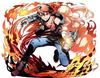 Divine Gate | Akane, Flame Gauntlet-Wielding Criminal
