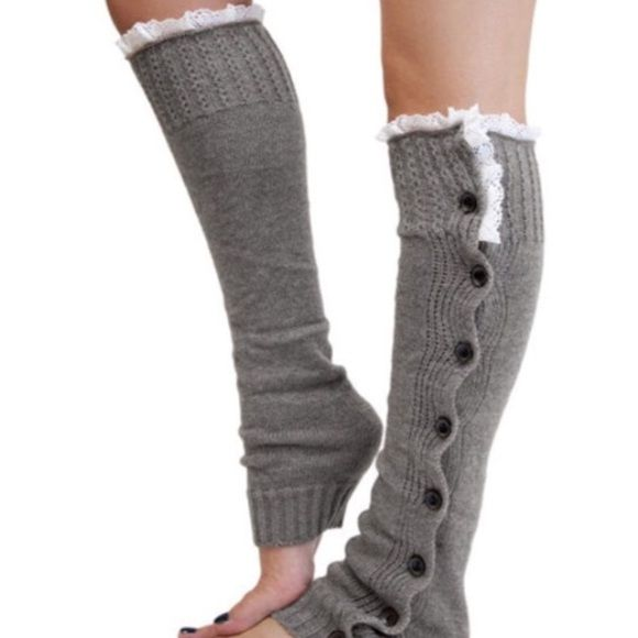 Spotted while shopping on Poshmark:  Comfy Cozy Leg Warmers ✨Last Pair in Light Grey! #poshmark #fashion #shopping #style #Accessories