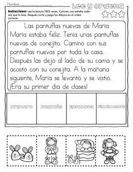 Práctica de secuencias con dibujos: el regreso a clases | Pinterest ...