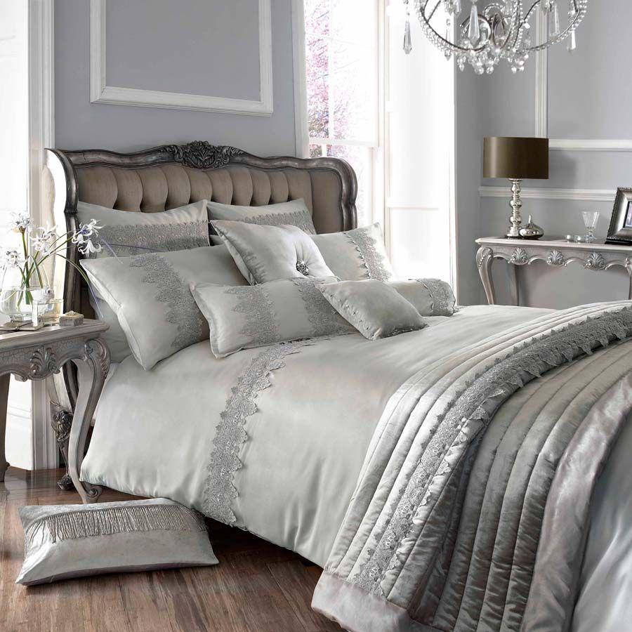 Grey Vintage Bedroom: Details About Kylie Minogue At Home Luxury Designer Grey