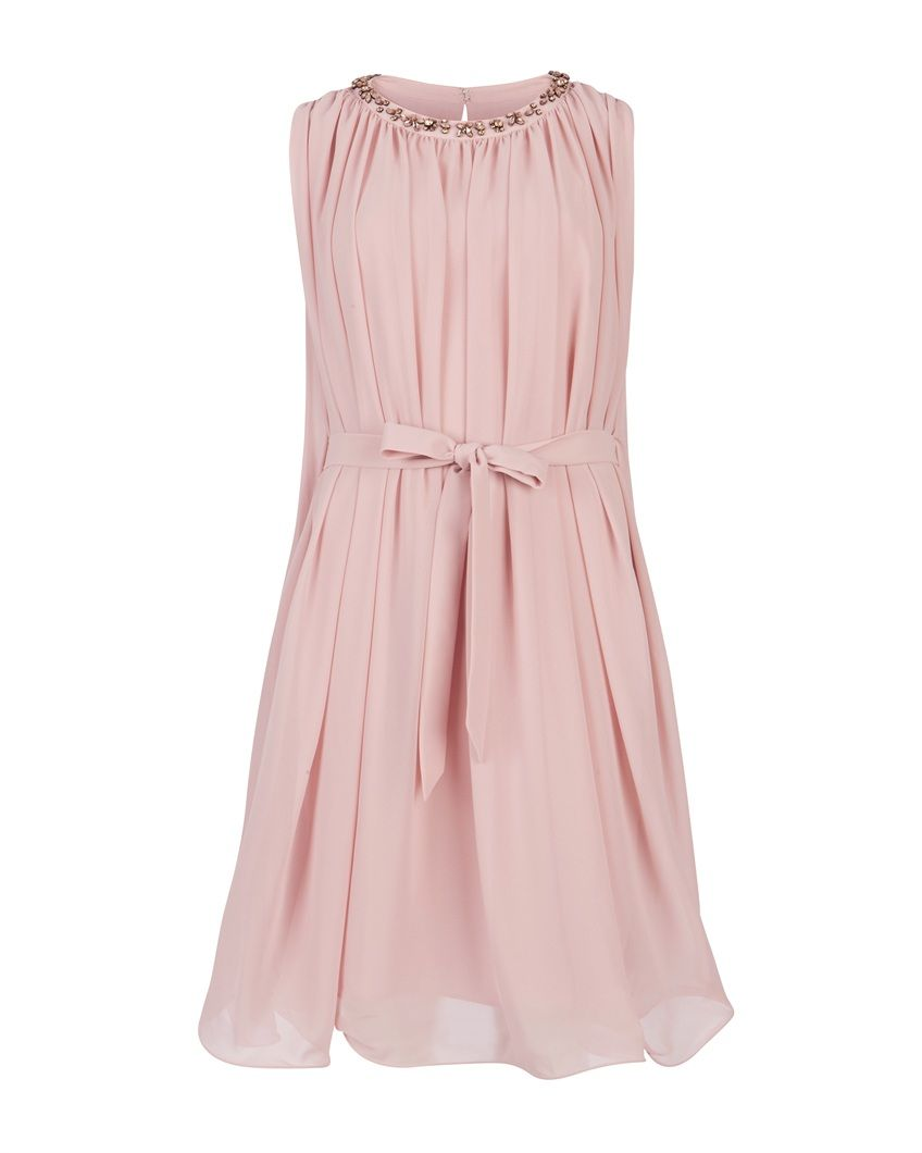 Ted Baker DANAH - Draped Sleeveless Dress | The B-Ms | Pinterest