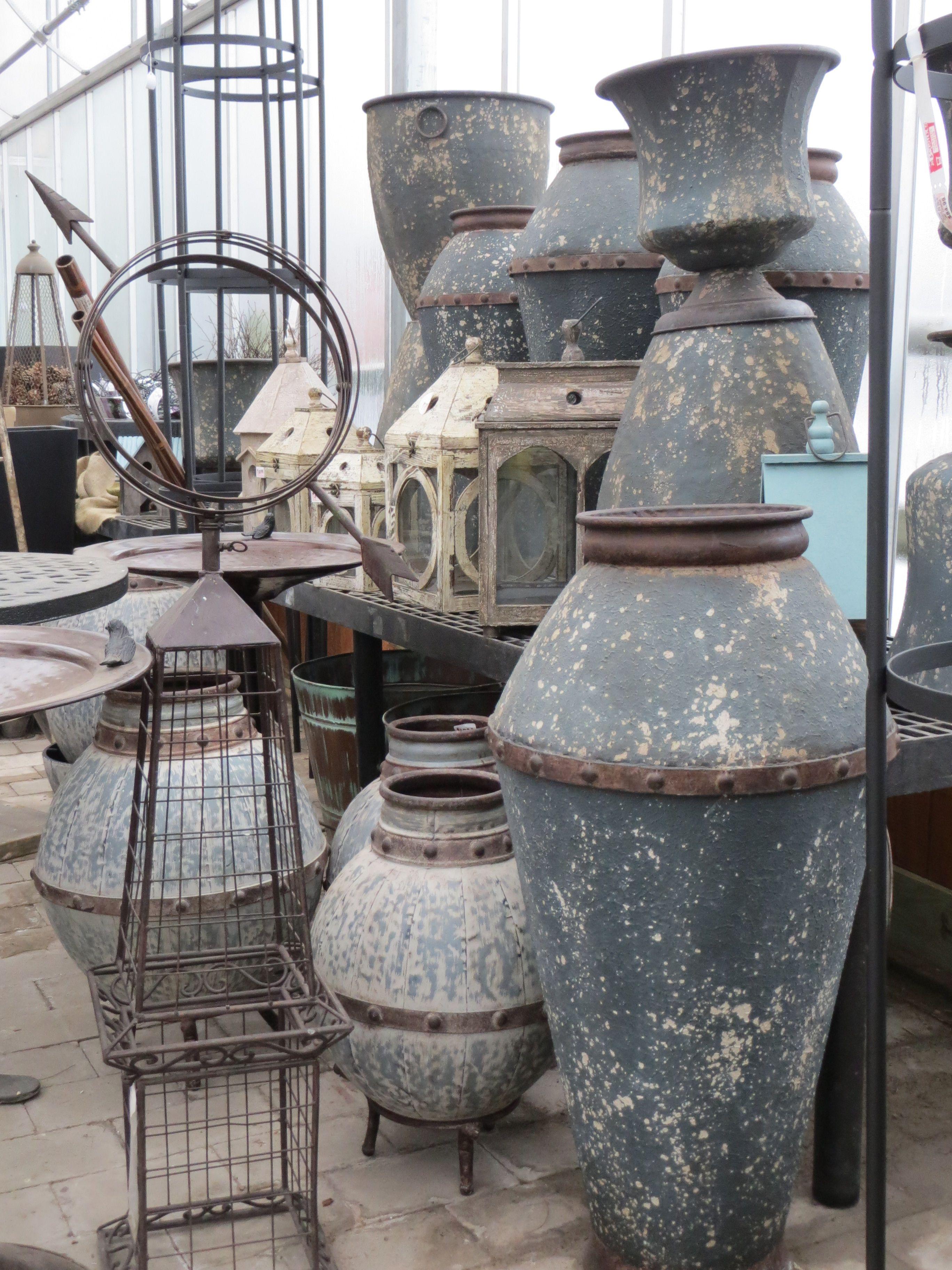 Pottery from the Atlanta Expo Bristol's Garden Center