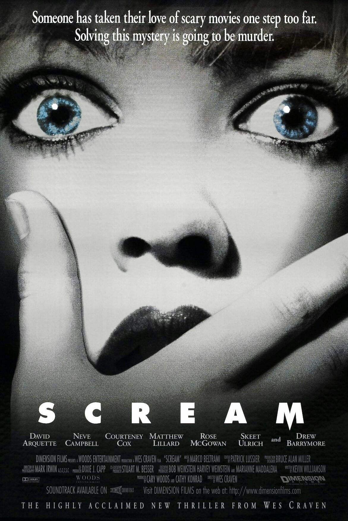 Scream Pelicula Scream Scream Peliculas De Miedo