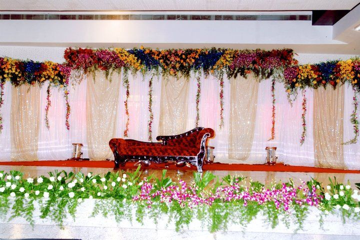Pin By Srinivas Chary On Wedding Decorations Stage Decorations