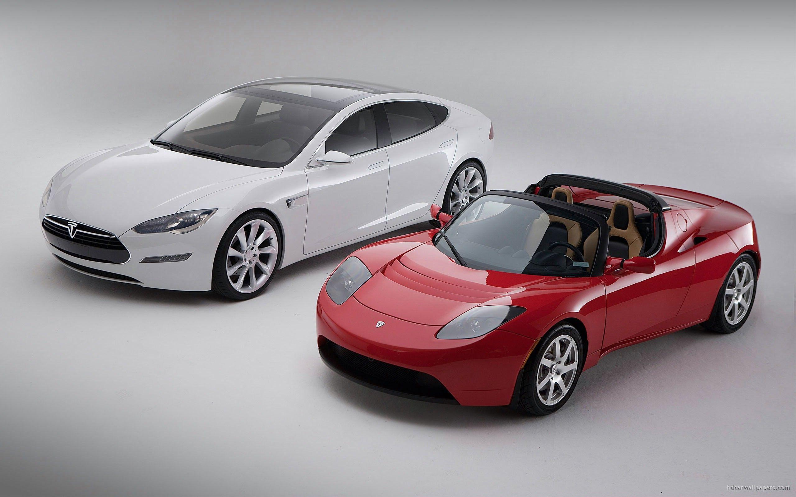 Amazing Tesla Model S Sedan Coupe Free Desktop Background