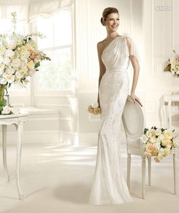 vestidos de novia sencillos para segundas nupcias | remarriage