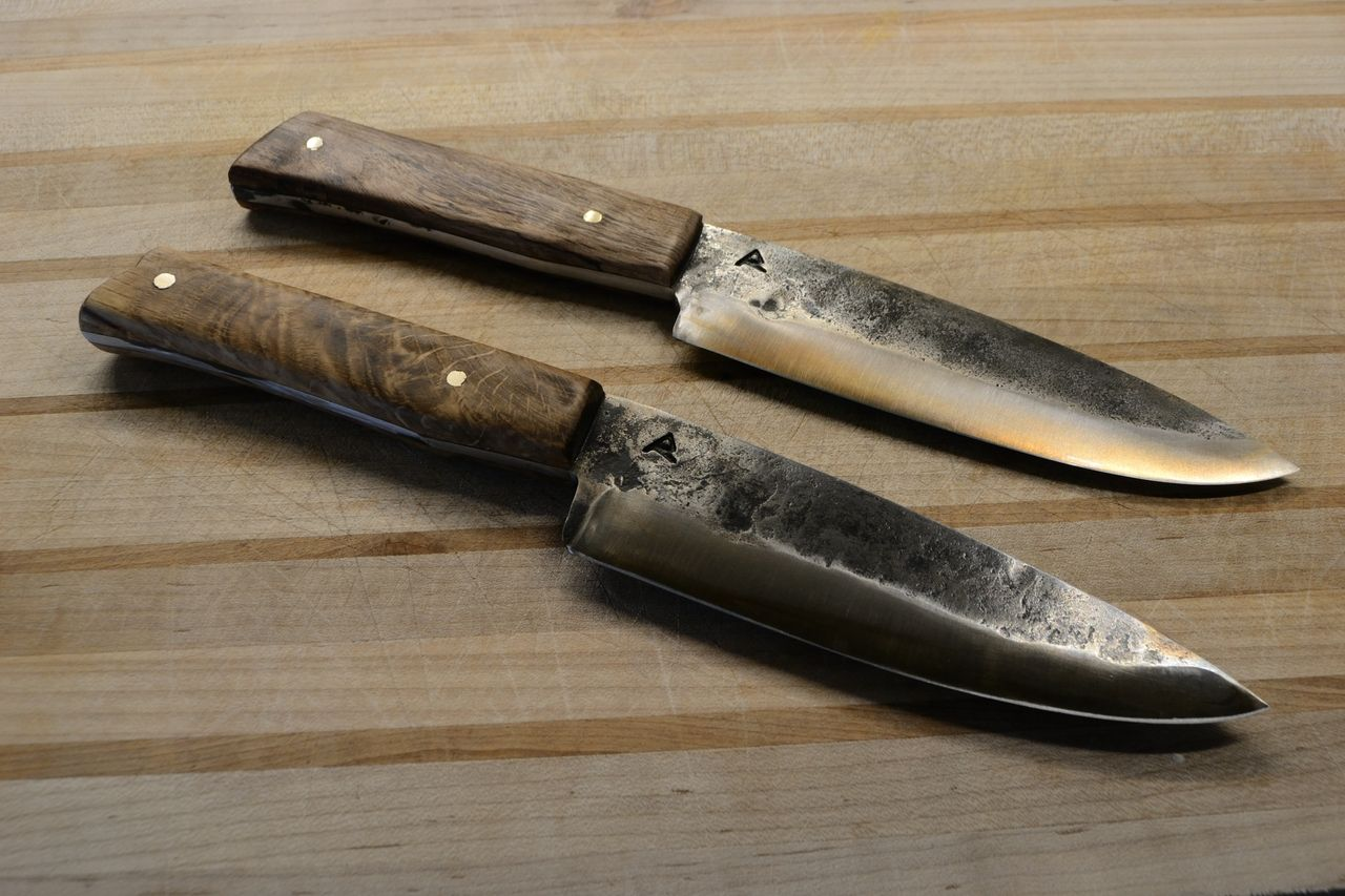 New chefus utility knives these have ud blades forged out of