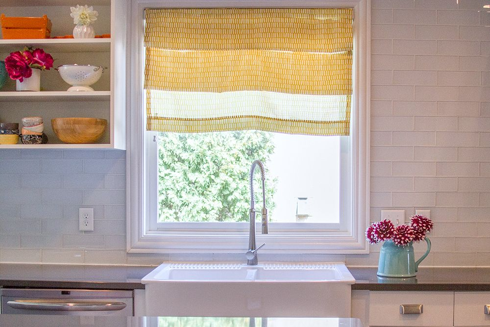 How To Make DIY Faux Roman Shades In 10 Minutes Faux