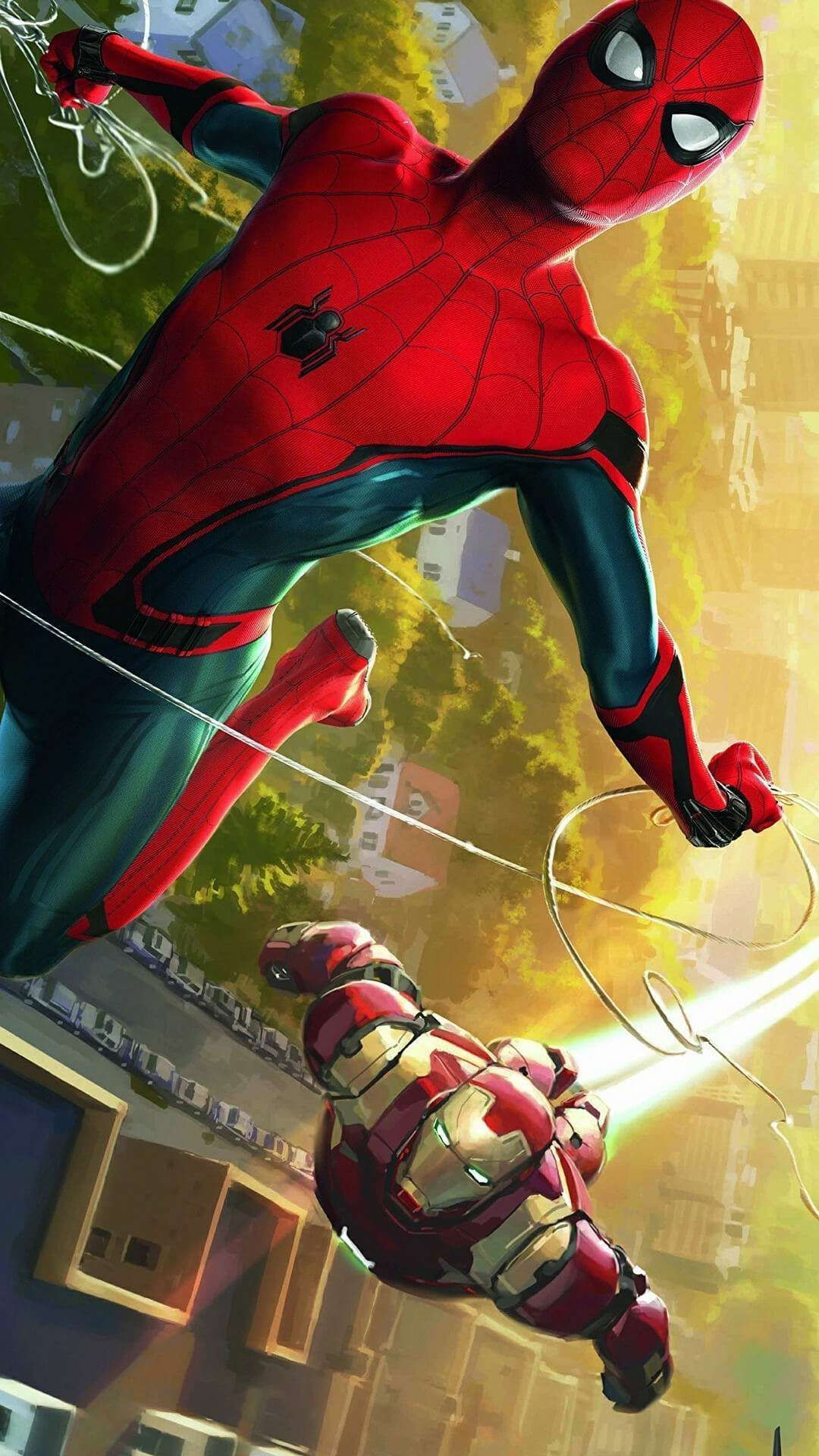 Film Review Spider Man Far From Home Strange Harbors In 2021 Marvel Iphone Wallpaper Iron Man Wallpaper Android Wallpaper Spiderman iron man hologram iphone 11