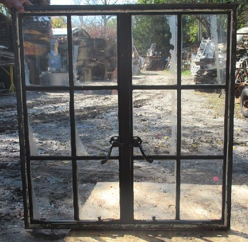 12 pane steel frame casement window | recycling the past