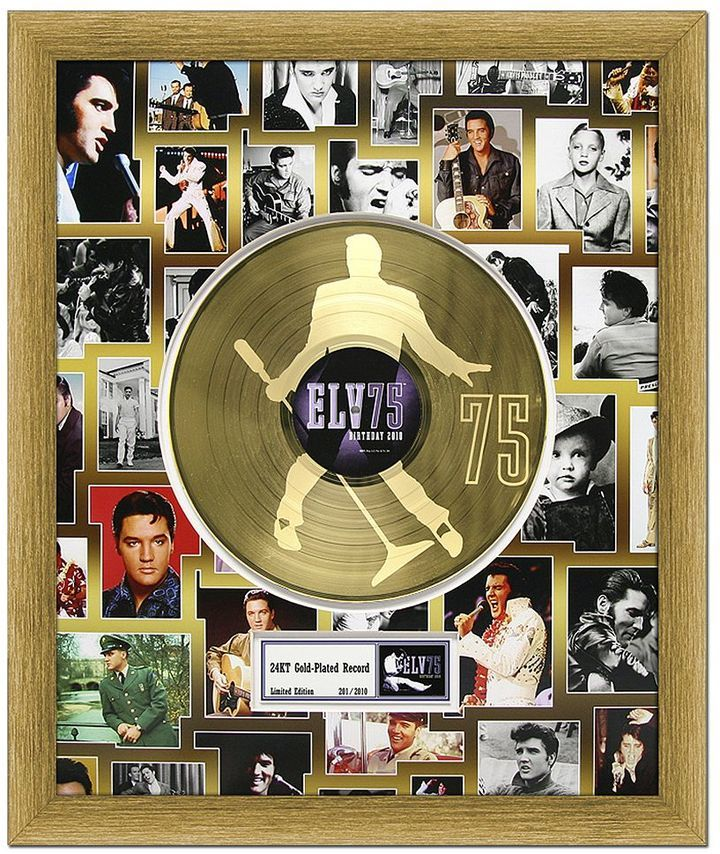 Elvis presley 75th birthday celebration 20 x 24 framed