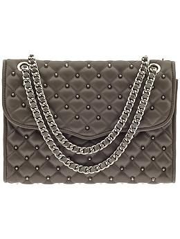 Rebecca Minkoff Quilted Affair with Studs | Piperlime