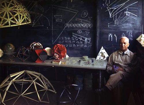 Buckminster Fuller at Black Mountain College – Nancy Newhall circa 1948