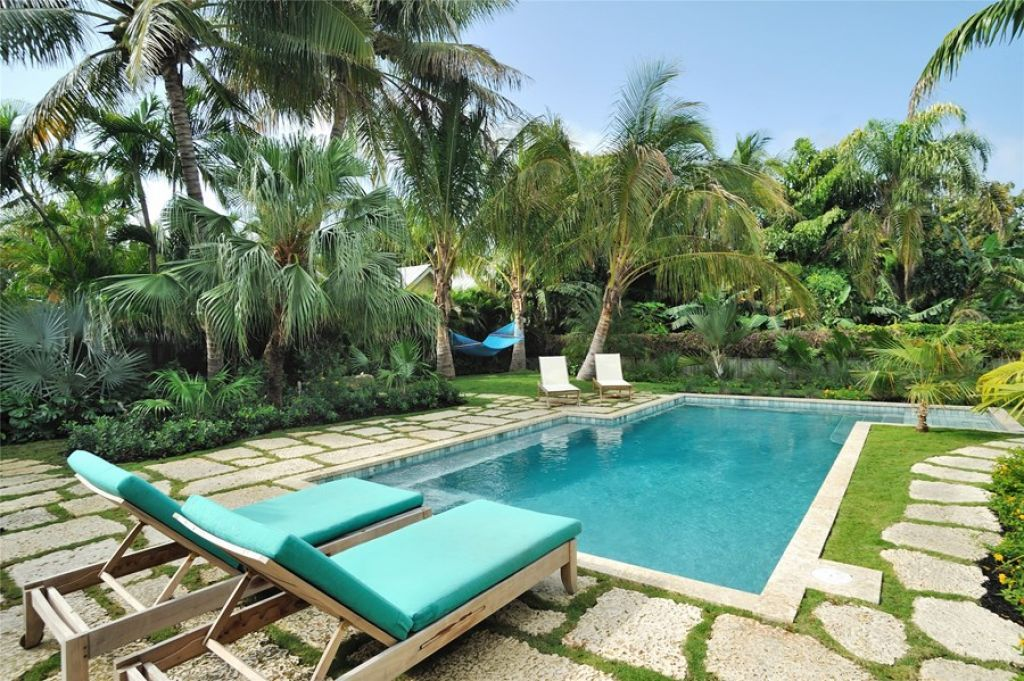 Growing Coconut Trees In Your Yards Tropical Pool Landscaping Tropical Pool Pool Landscape Design