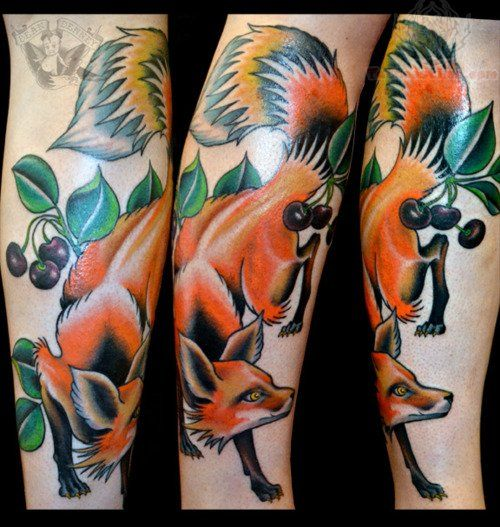 My Newly Completed Japanese Fox 3 4 Sleeve By Stewart Robson At Modern Classic Fulham Uk Japanese Tattoo Irezumi Tattoos Japanese Fox