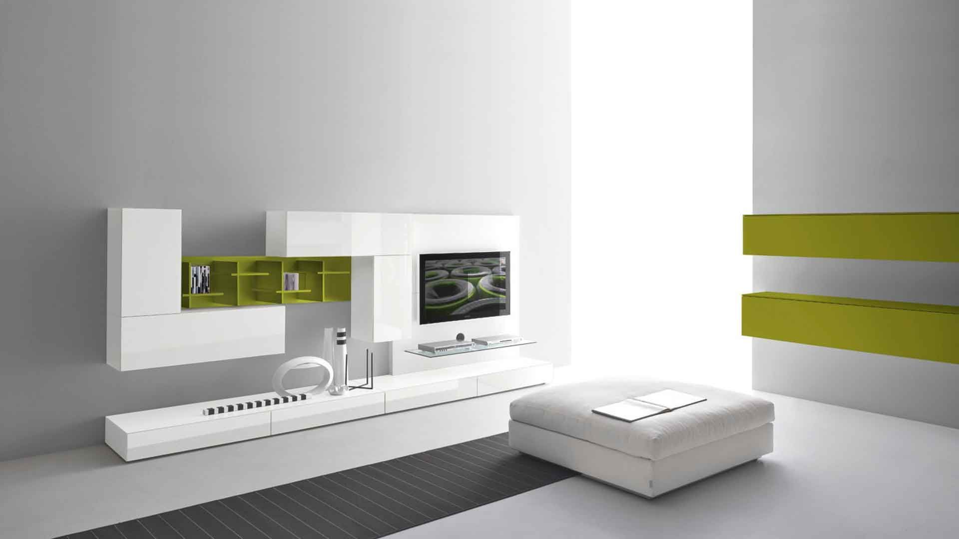 Furniture,Modern White Wall Paint And Minimalist Tv Wall Panel Design
