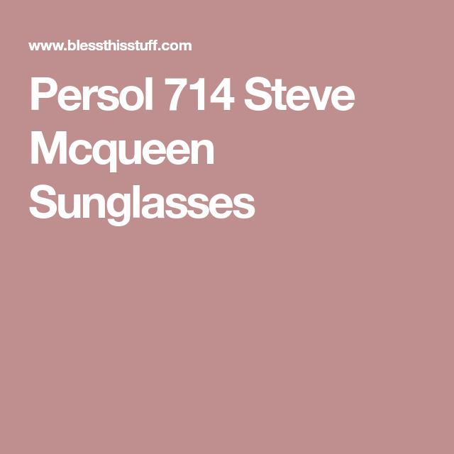 e63c03788653b1 Persol 714 Steve Mcqueen Sunglasses