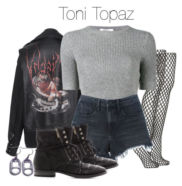 U0026quot;Toni Topaz - Riverdaleu0026quot; by shadyannon liked on Polyvore featuring MISBHV Topshop Valentino ...