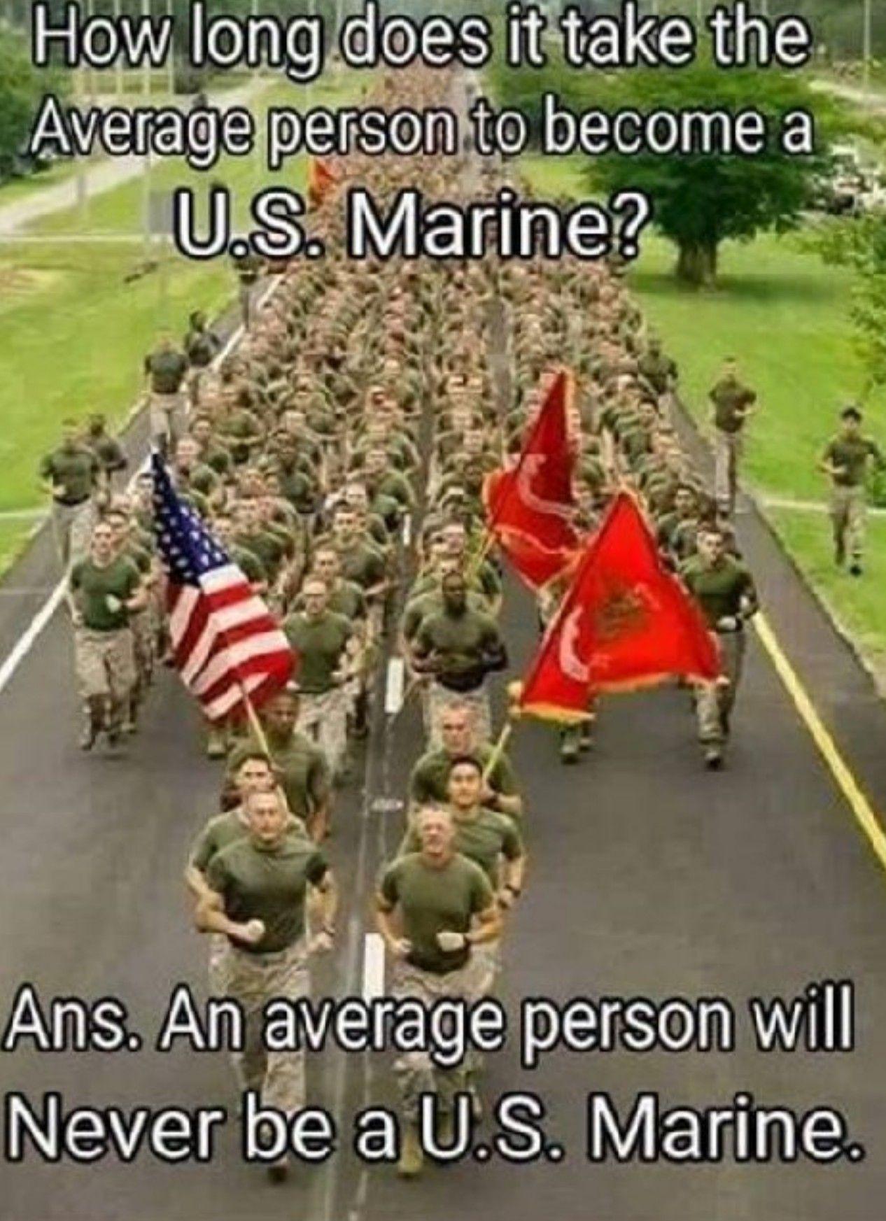 Average marine