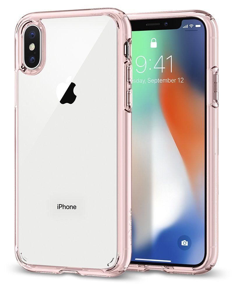 Spigen Crystal Cover iPhone 7 Cover iPhone 8 con Protezione
