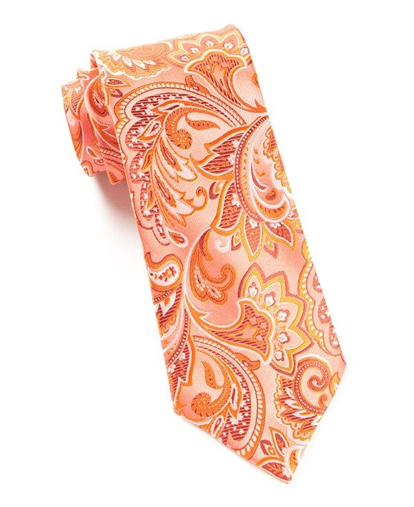 bc0837764a50 ORGANIC PAISLEY TIES - CORAL | Ties, Bow Ties, and Pocket Squares | The Tie  Bar