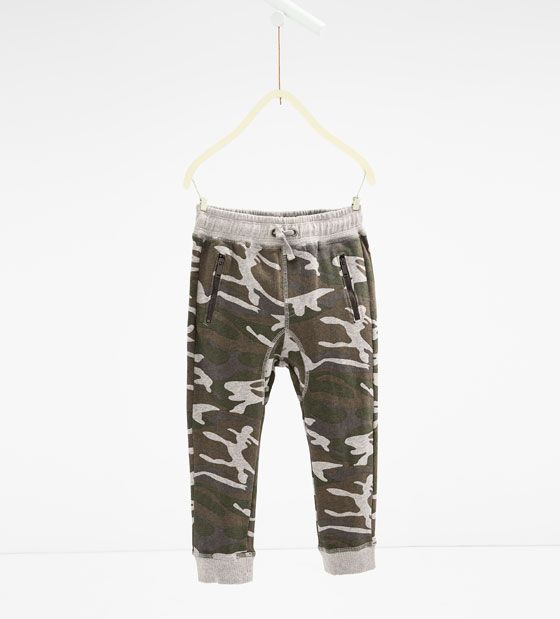 ZARA - KIDS - Camouflage trousers | Bebe | Pinterest