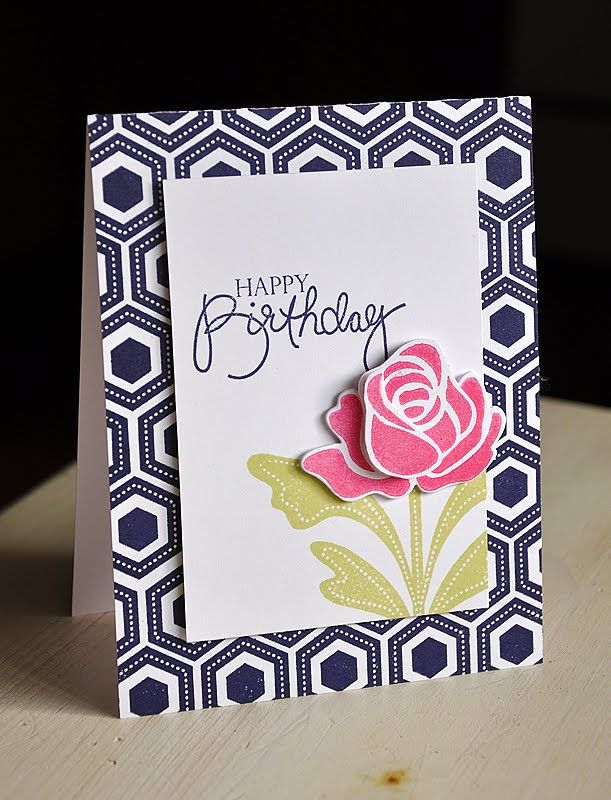 Hello everyone and welcome its day four of the papertrey ink the boldly striped curtains and the damask pattern on the pillow lead to this hand stamped card base i stamped it using two of the three background m4hsunfo