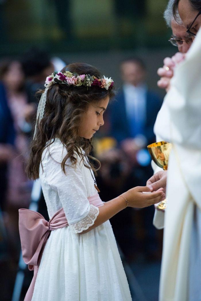 Coronas y tocados de flores para niñas | Flores en el Columpio