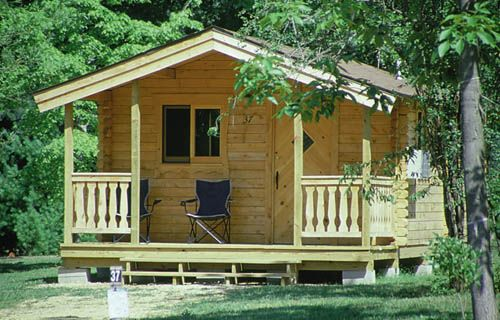 2012 Rates At Baraboo Hills Campground Cabin Living Baraboo Campground