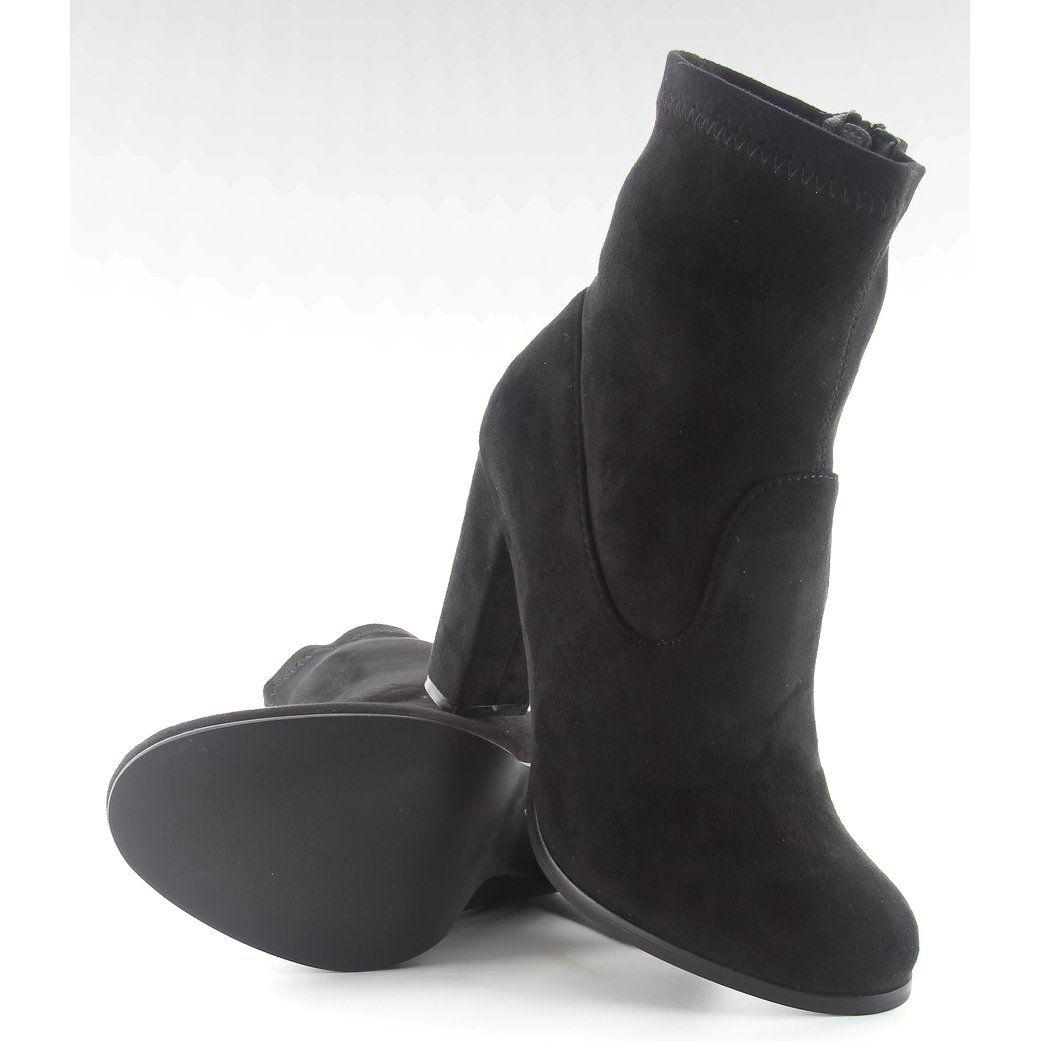 Jesienne Botki Na Obcasie A921 Black Czarne Ugg Boots Shoes Uggs
