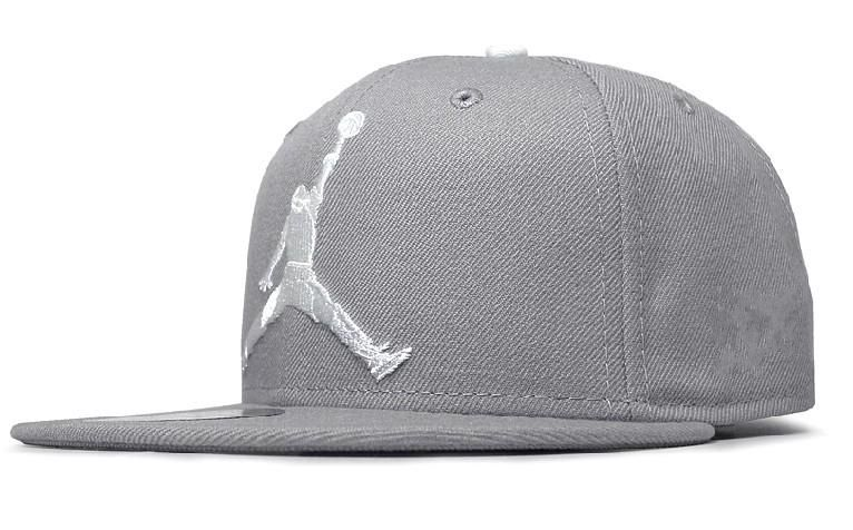 New Era Michael Jordan Snapback Hats Caps Gray  590bef24651