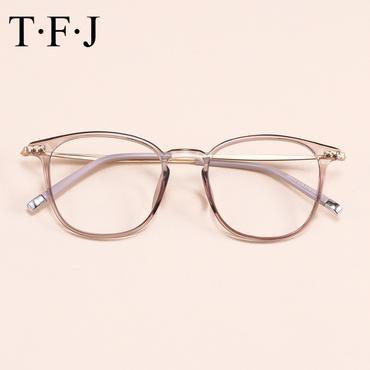 Photo of Computeroptische transparente Brille Rahmen Brille Frauen Männer Grade weibliche Clear Spectacle Frame Brillenrahmen für Brillen