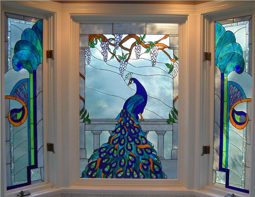 Stained Glass Window Film At Lowes
