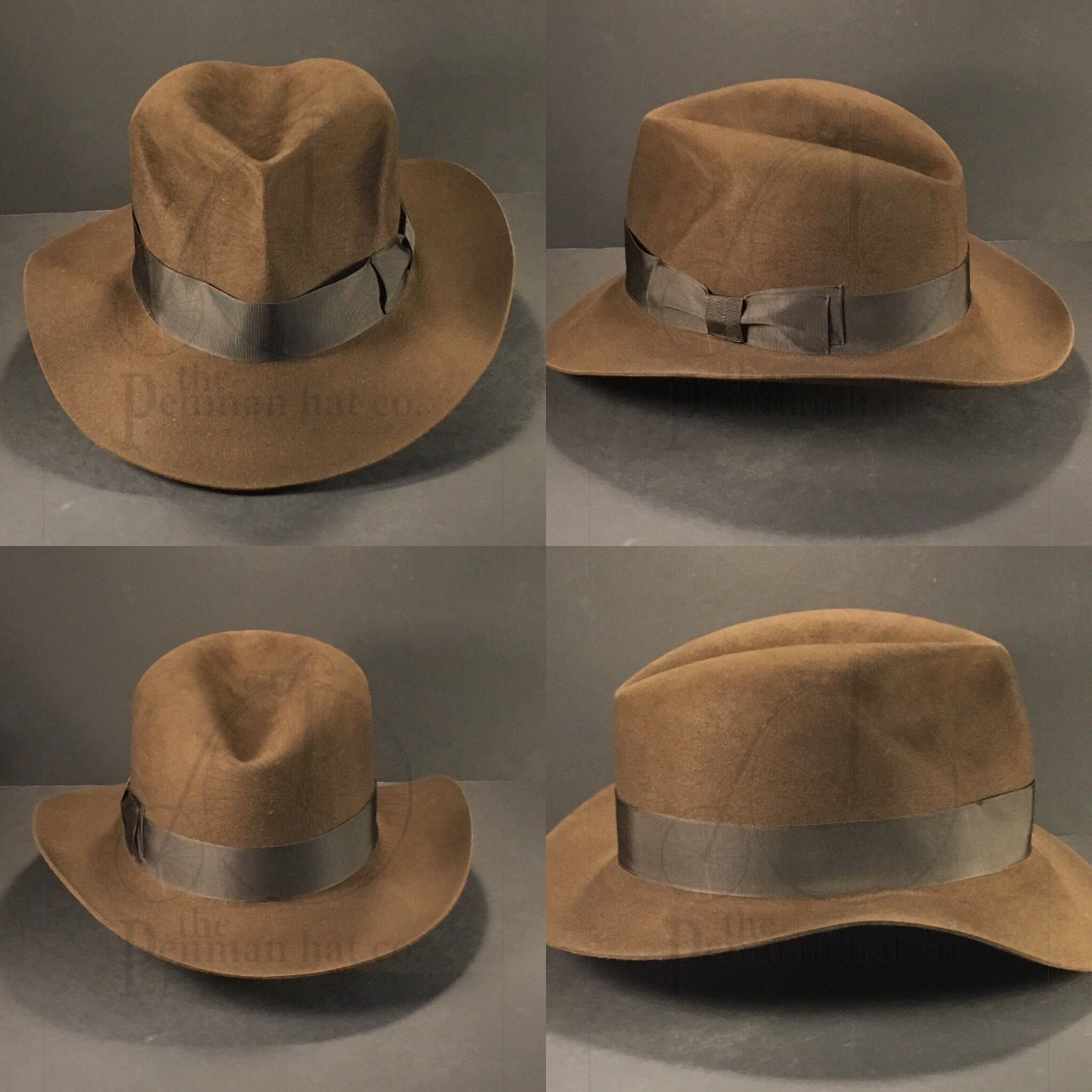 8d51f6b61e5192 Just finished this Indiana Jones Raiders of the Lost Ark fedora.  #OnlyPenman #penmanhats