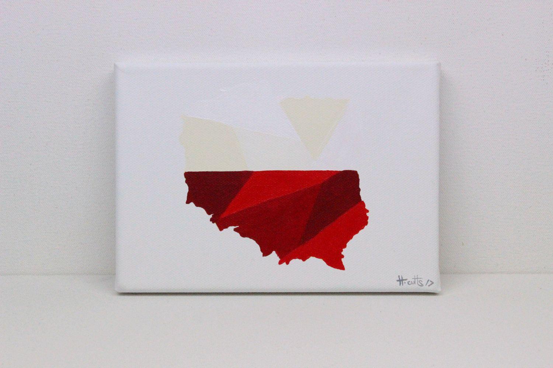 Poland Painting Poland Polish Flag Poland Map