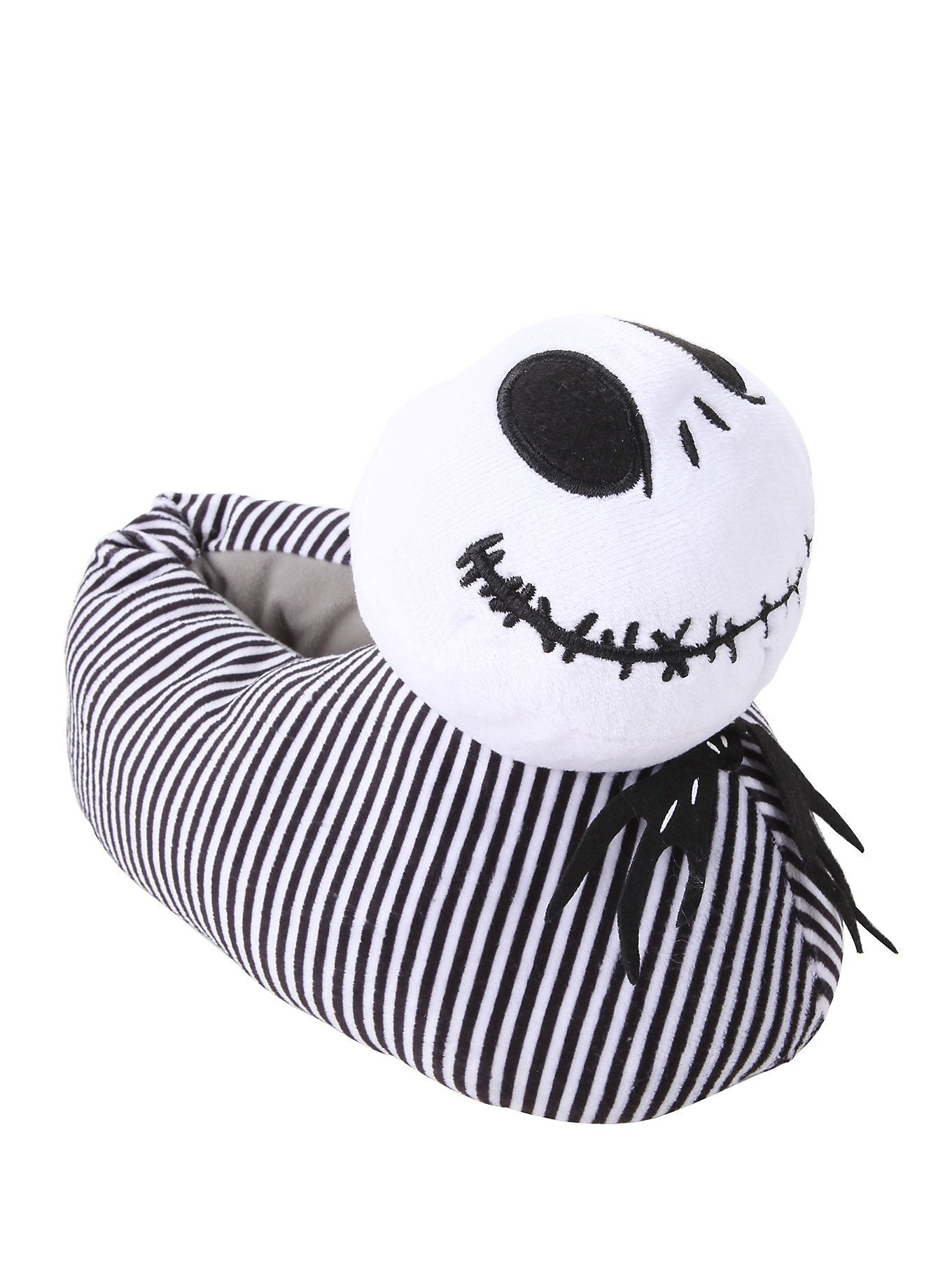 The Nightmare Before Christmas Jack Head Slippers | Hot Topic | 2016 ...