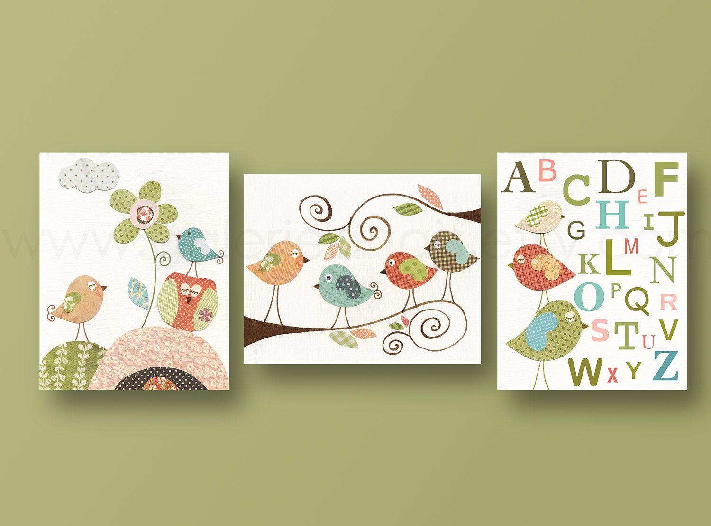Nursery art print, nursery decor, baby nursery, kids art, kids room ...